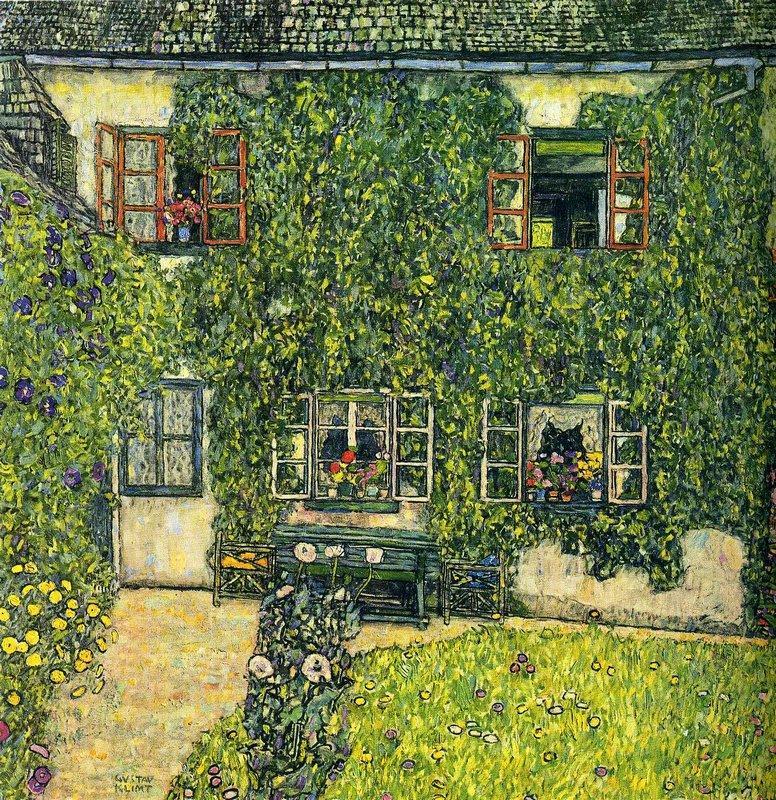 The House of Guardaboschi - Gustav Klimt
