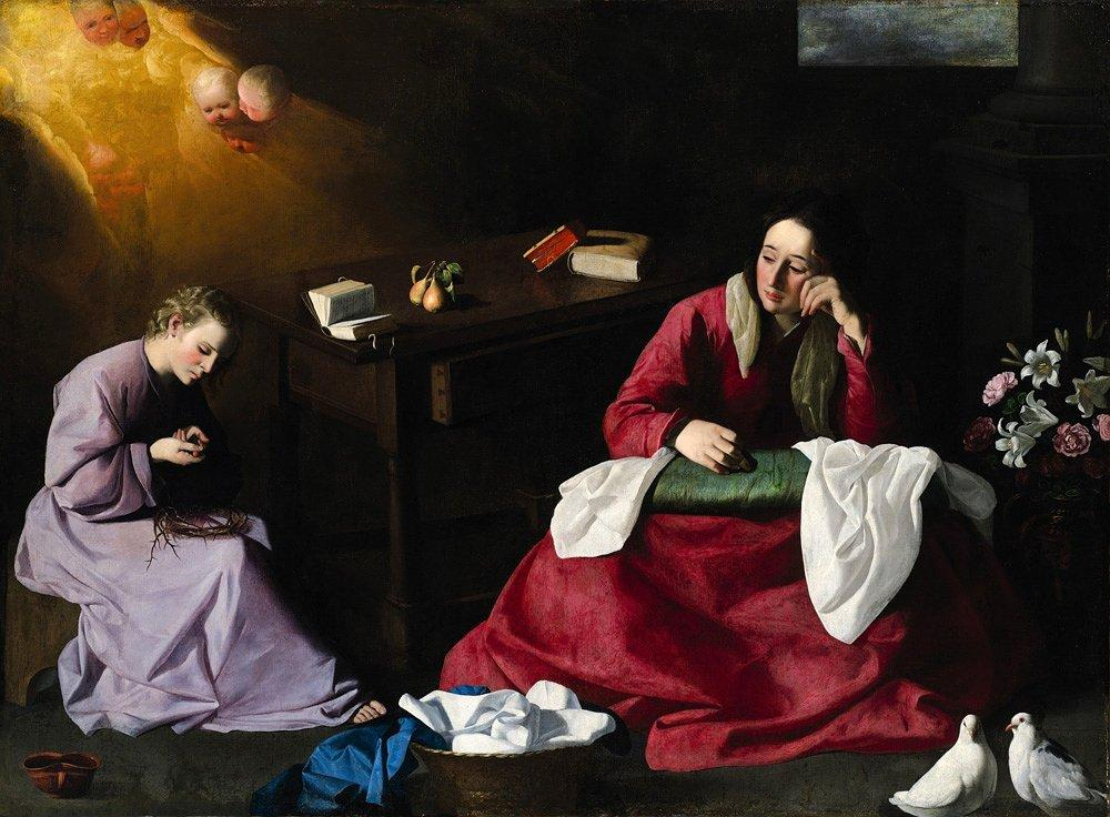 The House of Nazareth - Francisco de Zurbaran