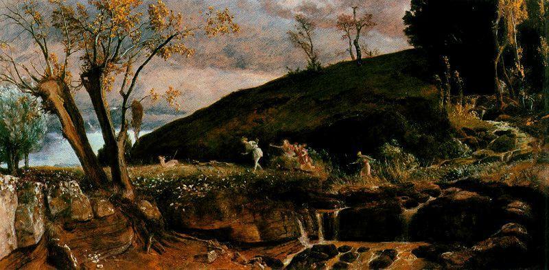 The Hunt of Diana - Arnold Bocklin