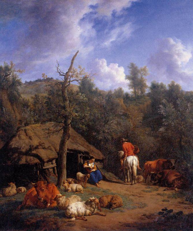 The Hut - Adriaen van de Velde