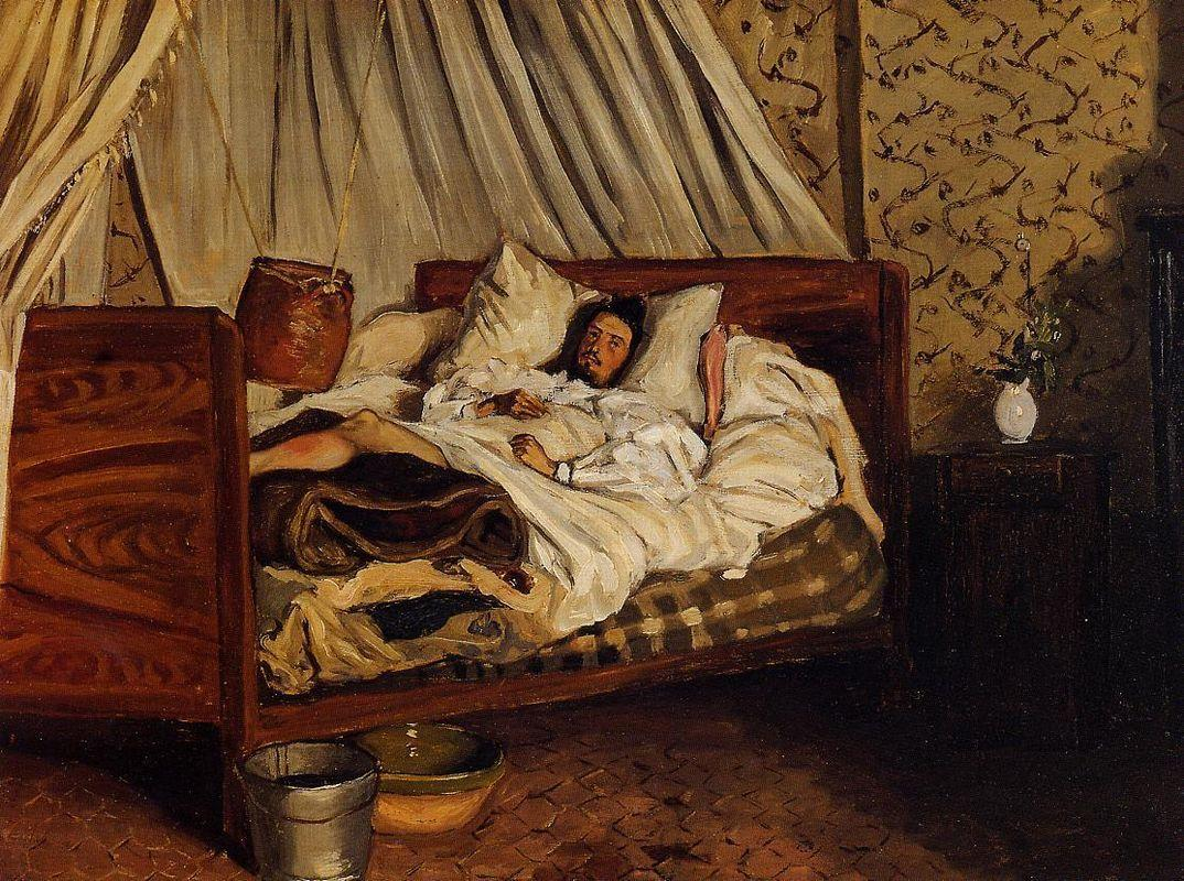 The Improvised Field-Hospital - Frederic Bazille