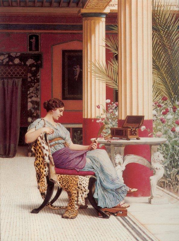 The Jewel Casket - John William Godward