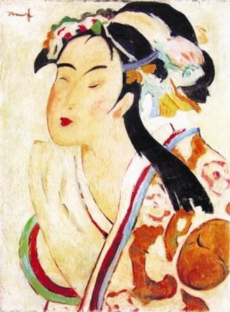 The Japanese Woman - Nicolae Tonitza