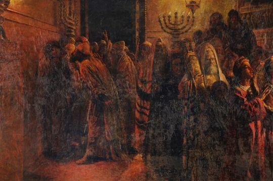 The Judgment of the Sanhedrin - Nikolai Ge