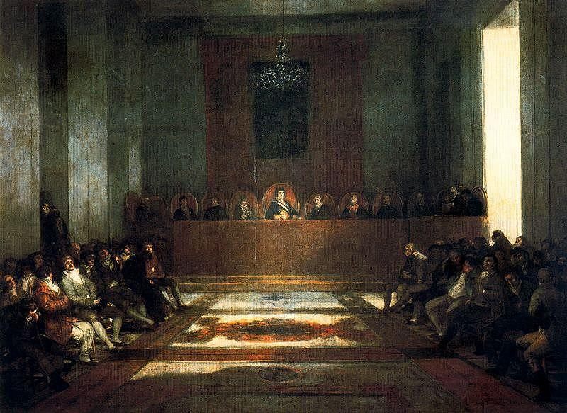 The Junta of the Philippines - Francisco Goya