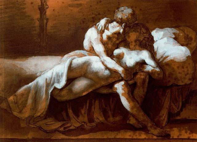 The Kiss - Ernst Ludwig Kirchner