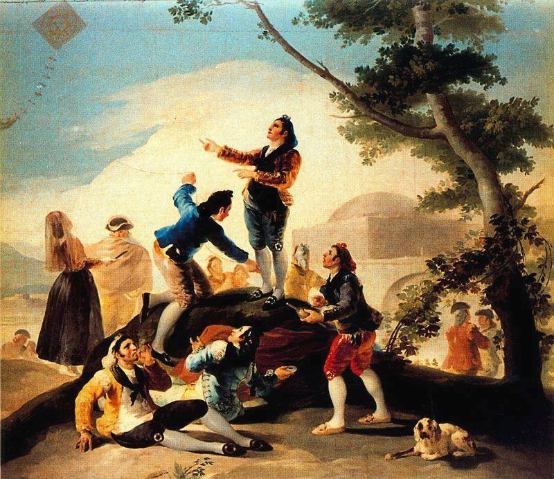 The Kite - Francisco Goya