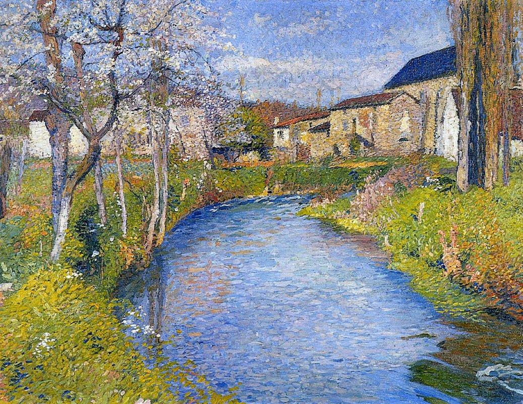 The Labastide du Vert in Spring - Henri Martin