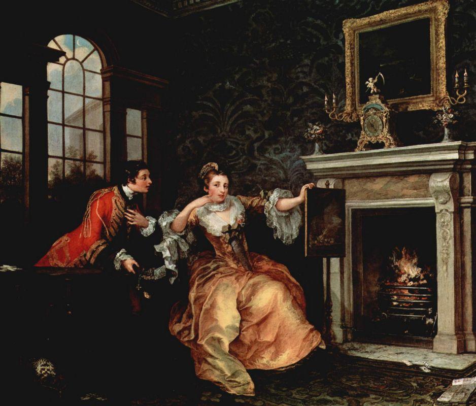 The Lady's Last Stake  - William Hogarth