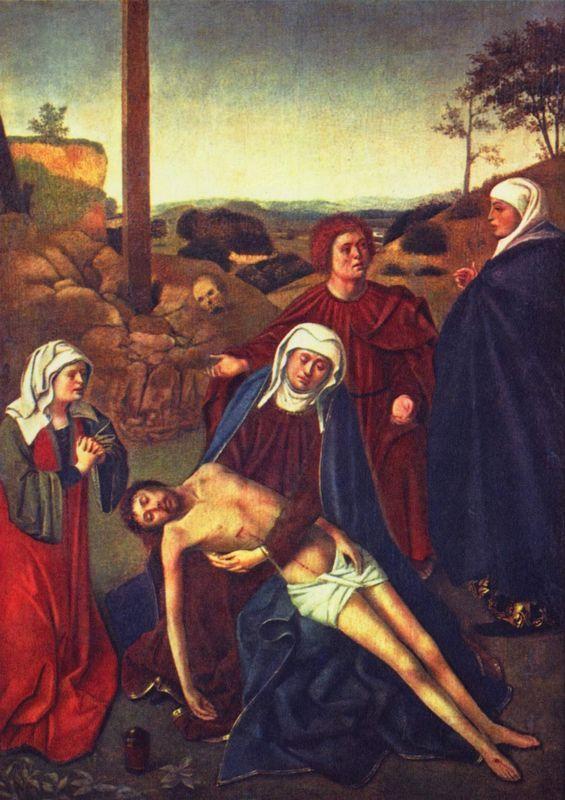 The Lamentation  - Petrus Christus