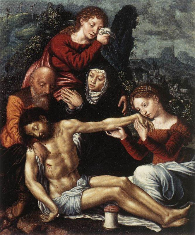 The Lamentation of Christ - Anthony van Dyck