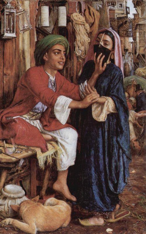 The Lantern Maker's Courtship - William Holman Hunt