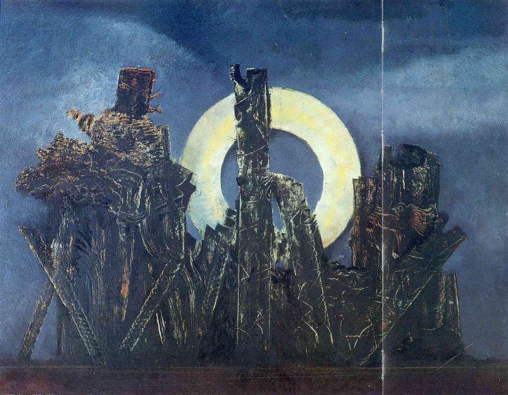 The large forest - Max Ernst