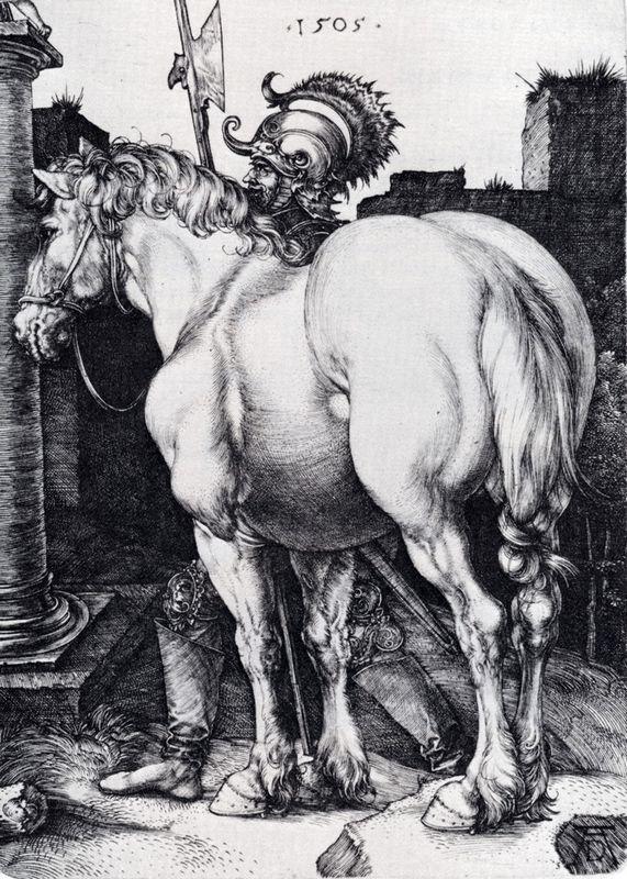 The Large Horse - Albrecht Durer