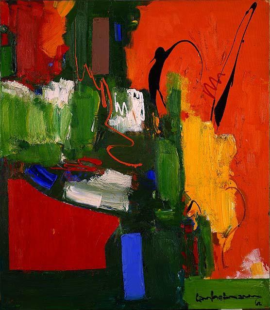 The Lark - Hans Hofmann
