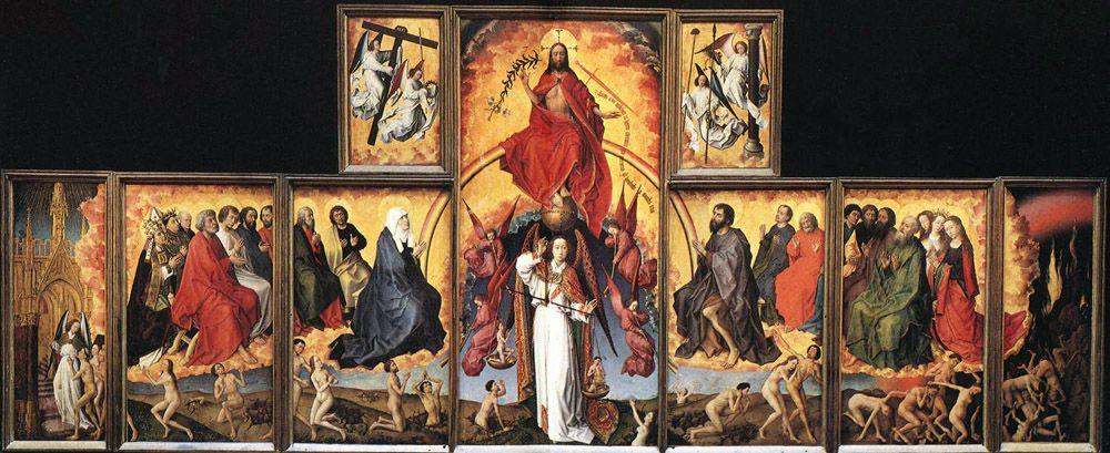 The Last Judgement - Rogier van der Weyden