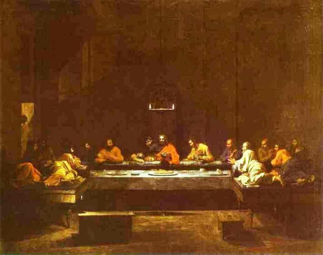The Last Supper - Nicolas Poussin
