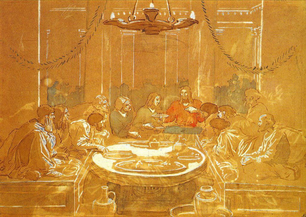 The Last Supper - Alexander Ivanov
