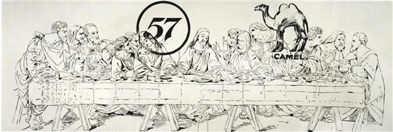 The Last Supper (Camel-57) - Andy Warhol