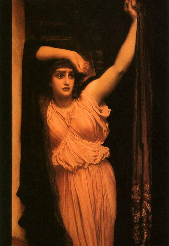 The Last Watch of Hero - Frederic Leighton