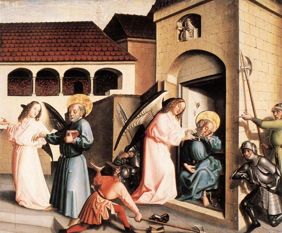 The Liberation of St. Peter - Konrad Witz
