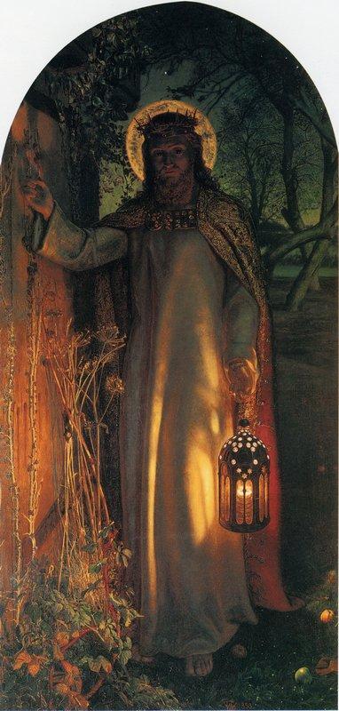 The Light of the World - William Holman Hunt