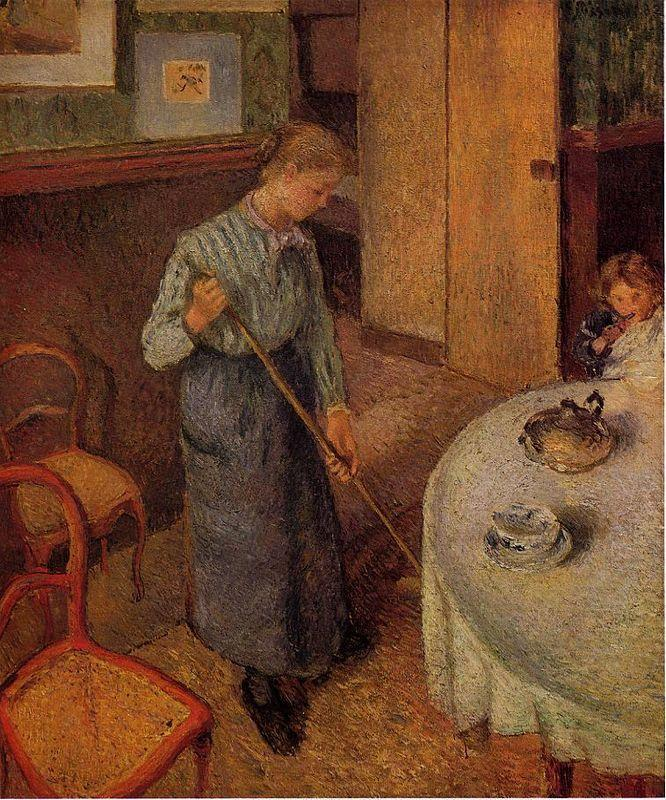 The Little Country Maid - Camille Pissarro