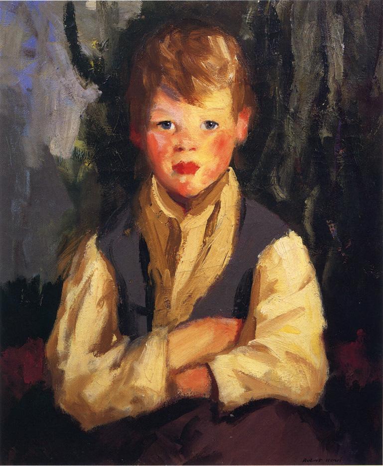 The Little Irishman - Robert Henri