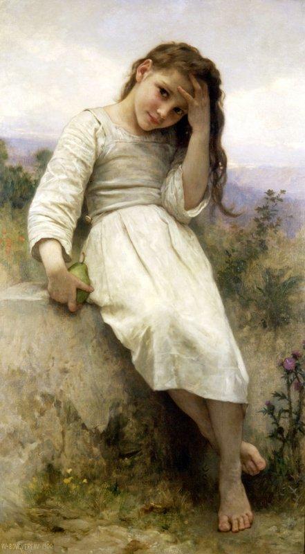 The Little Marauder - William-Adolphe Bouguereau