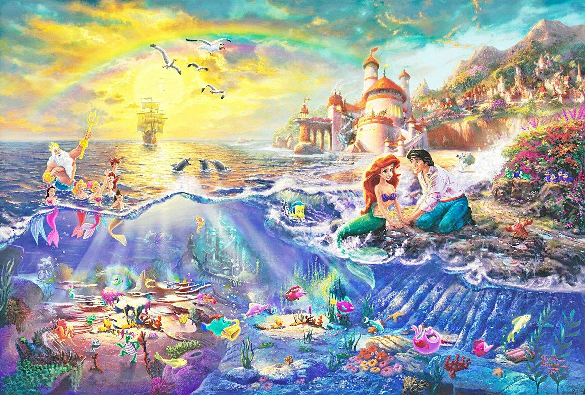 The Little Mermaid - Thomas Kinkade