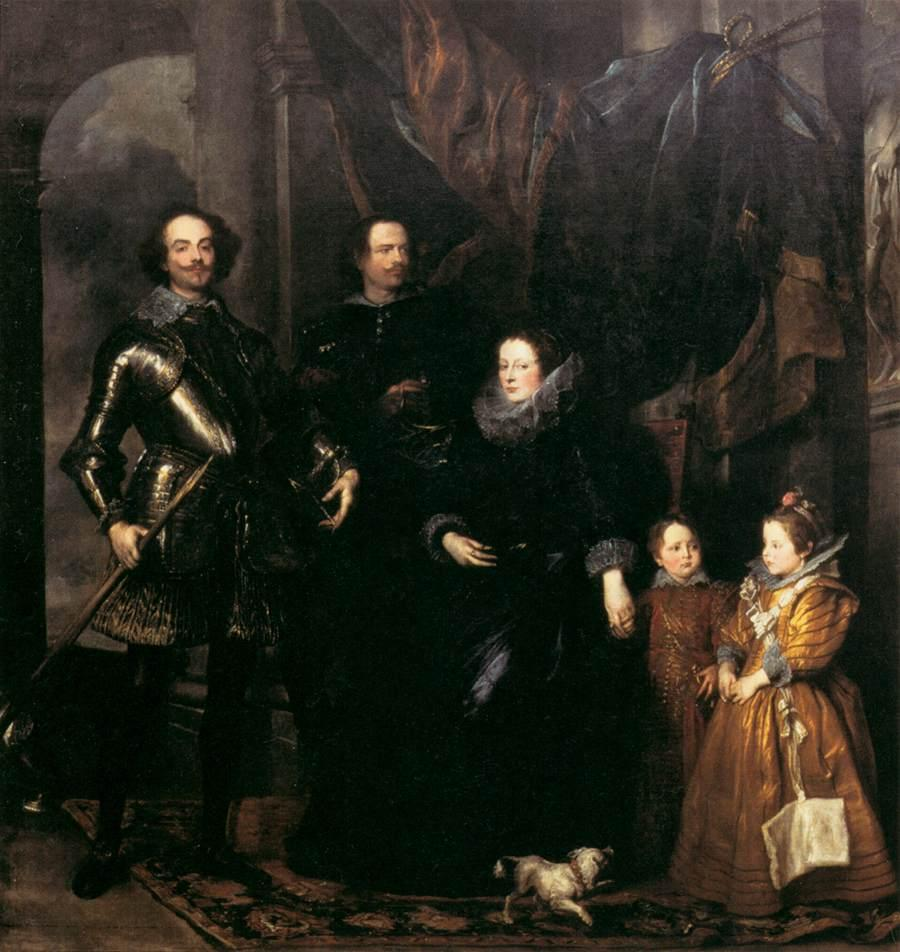 The Lomellini Family - Anthony van Dyck