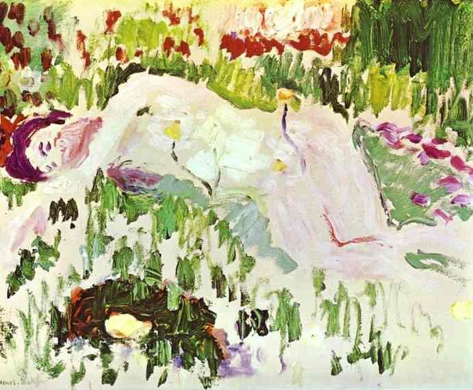 The Lying Nude - Henri Matisse