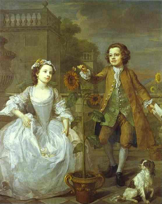 The Mackinen Children  - William Hogarth