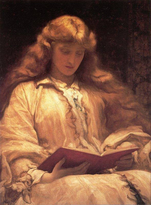 The Maid with the Yellow Hair - Frederic Leighton