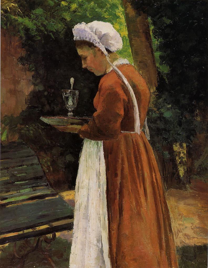The Maidservant - Camille Pissarro