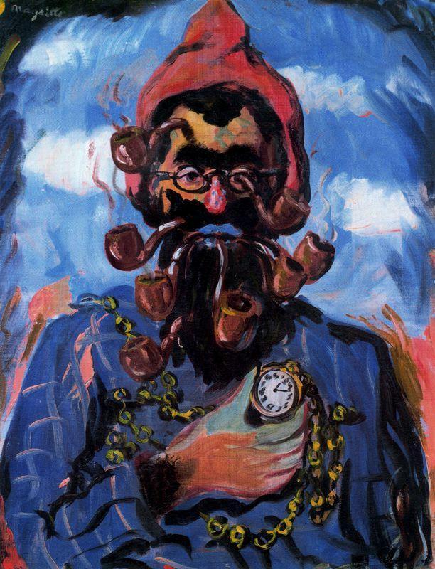 The maimed - Rene Magritte