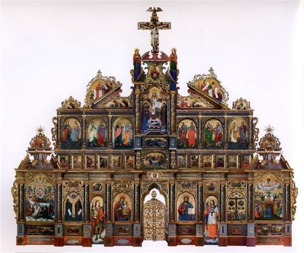 The Maniava Hermitage iconostasis  - Yov Kondzelevych