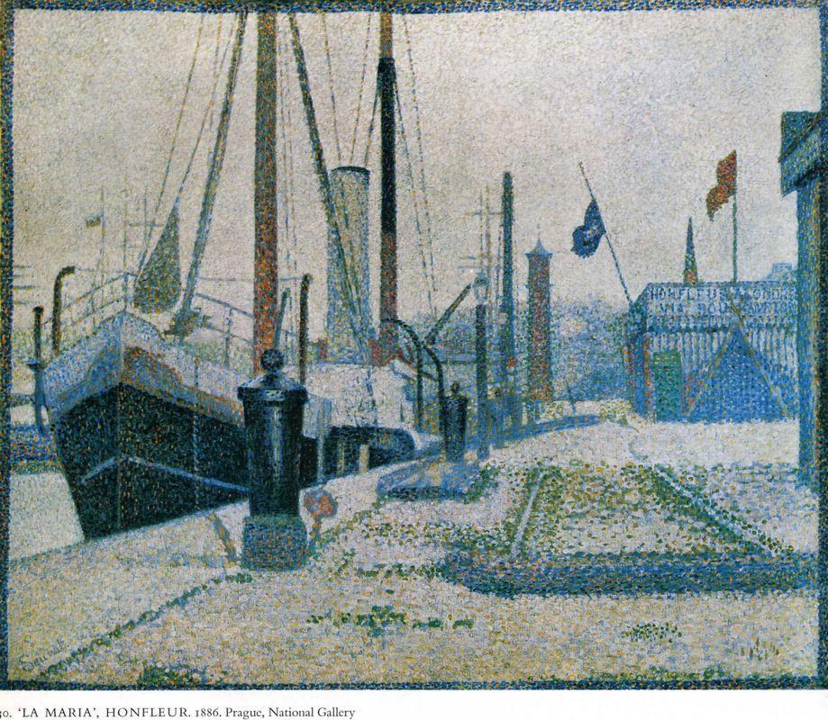 The Maria, Honfleur - Georges Seurat