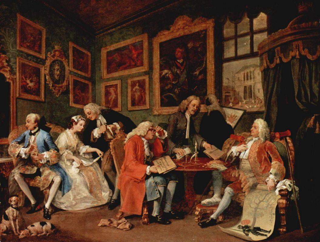 The Marriage Contract - William Hogarth