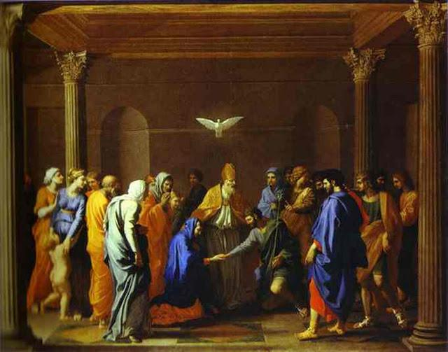 The Marriage of the Virgin - Nicolas Poussin