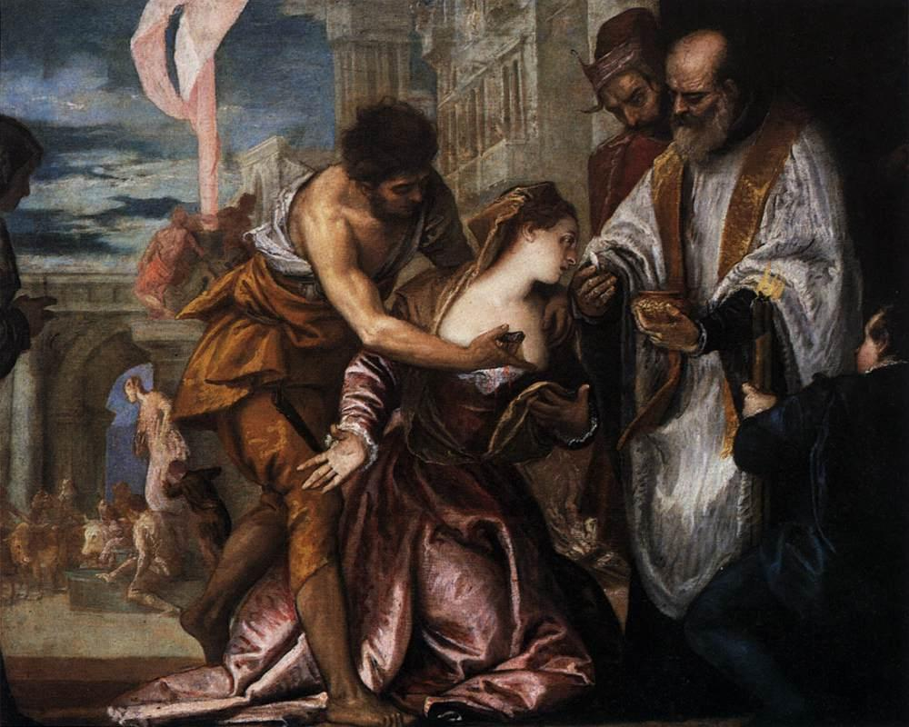 The Martyrdom and Last Communion of Saint Lucy - Paolo Veronese