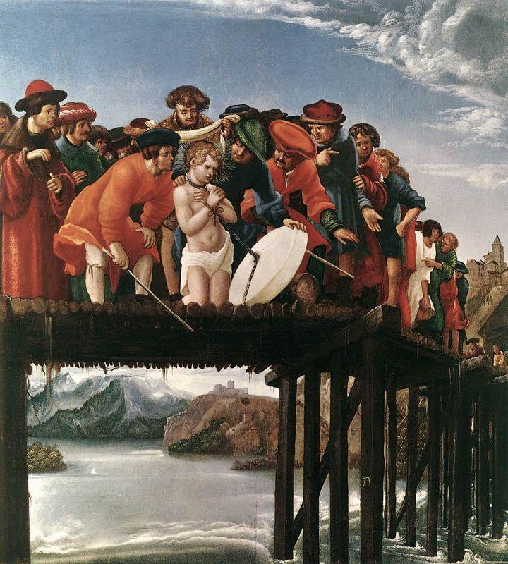 The Martyrdom of Saint Florian - Albrecht Altdorfer