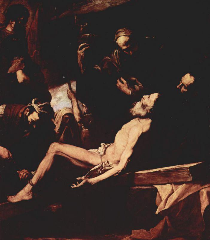 The Martyrdom of St. Andrew - Jusepe de Ribera