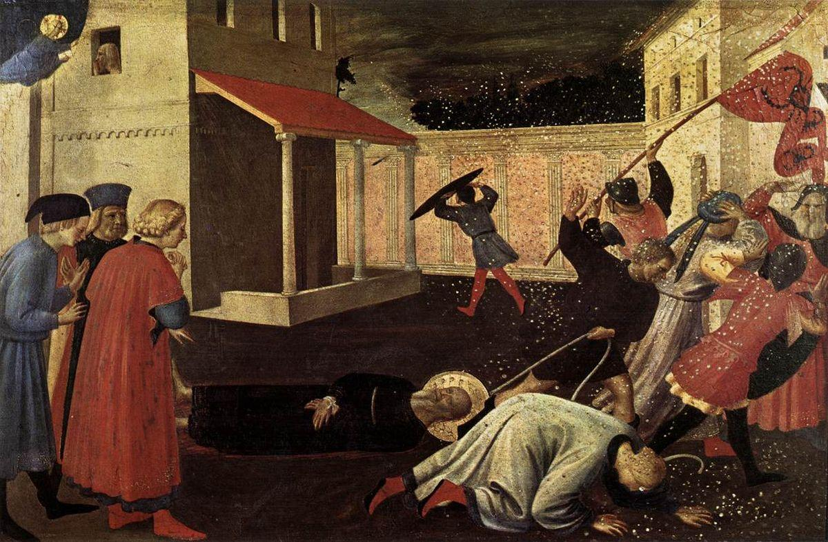 The Martyrdom of St. Mark - Fra Angelico