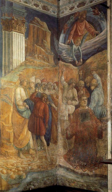 The Martyrdom of St. Stephen - Filippo Lippi