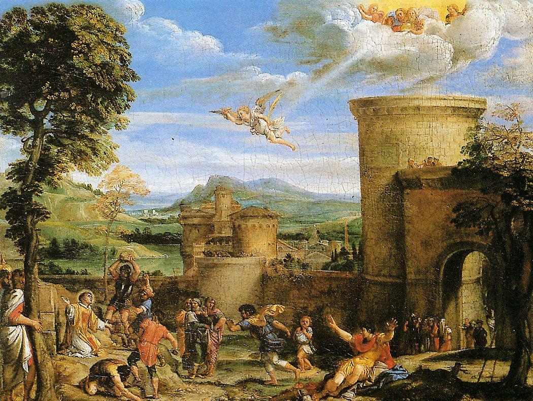 The Martyrdom of St Stephen - Annibale Carracci