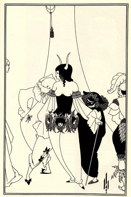 The Mask of the Red Death - Aubrey Beardsley