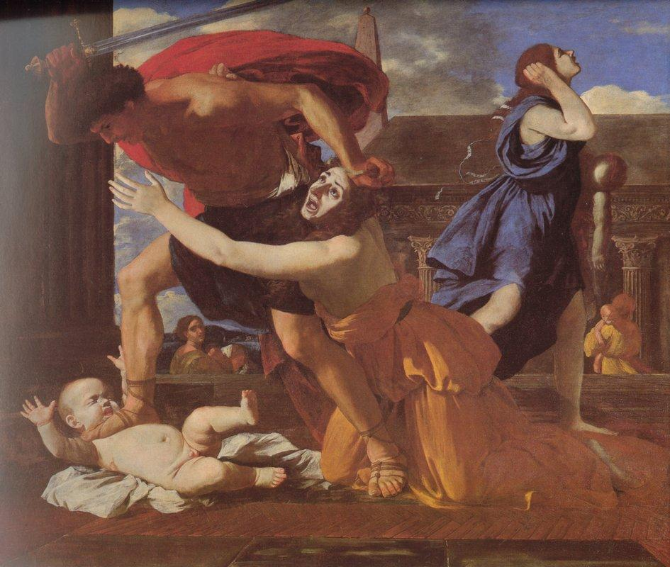 The Massacre of the Innocents - Nicolas Poussin