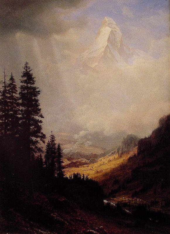 The Matterhorn - Albert Bierstadt