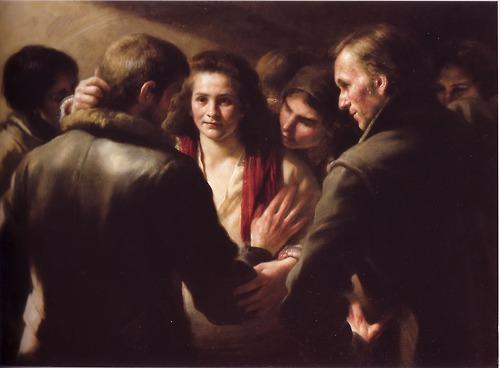 The Meeting - Odd Nerdrum
